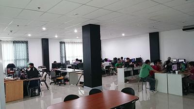 セブITアウトソーシングセンター新オフィス