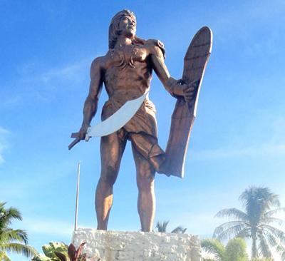 フィリピン ラプラプ像