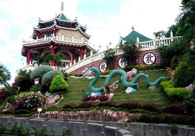 フィリピン セブ道教寺院外観