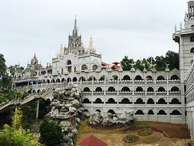フィリピン セブセブシマラ教会外観