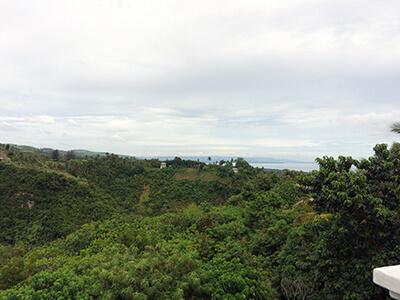 フィリピン セブ教会からの景色