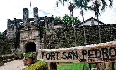 フィリピン セブサンペドロ要塞外観