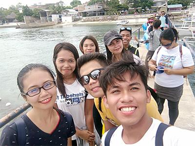 フィリピン セブ島のボート乗り場