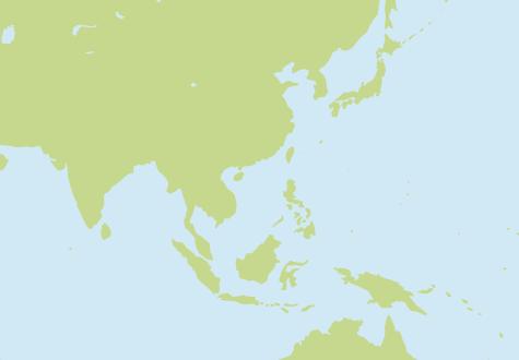オフショア選定・日本-フィリピン周辺地図