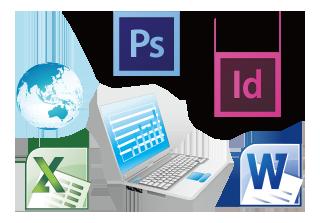 セブITアウトソーシングセンターが提供する様々なドキュメント画像