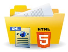 ITアウトソーシング・XMLやHTMLデータの制作