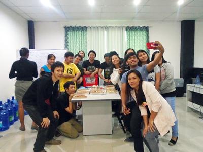 フィリピン セブITアウトソーシングセンター従業員