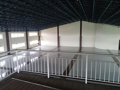 フィリピン セブオフィス屋上にある多目的ホール