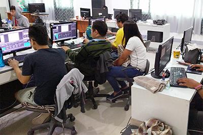 セブITアウトソーシングセンターのフィリピン人エンジニア